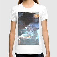 broadway T-shirts featuring Midnight Broadway East No.46 by Xi By Xi Chen