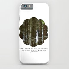 the clearest way into the universe iPhone 6s Slim Case