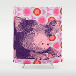 This Little Piggy... Shower Curtain