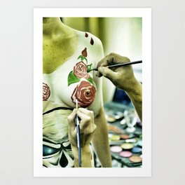Masters at work Art Print