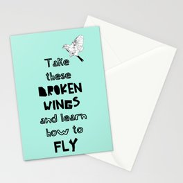 Learn how to fly Stationery Cards