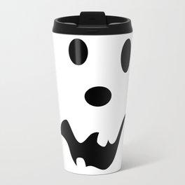 Scared Jack O'Lantern Face Travel Mug