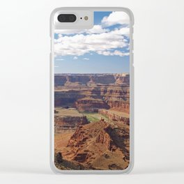 The Colorado River at Dead Horse Point Clear iPhone Case