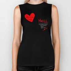 This Valentine's Day I'm Going to... HELL Biker Tank