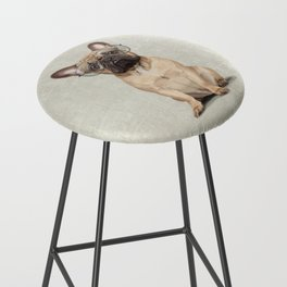 Mr French Bulldog Bar Stool