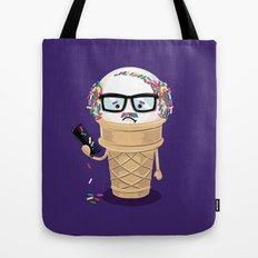 Ice Cream Coneover Tote Bag