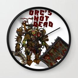 Beast not dead Wall Clock