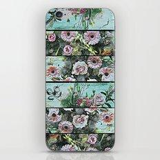 Romantic Rococo wood panel iPhone & iPod Skin