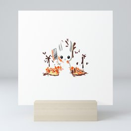 PUMPKIN SLAUGHTER Mini Art Print