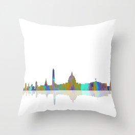 Washington, DC Skyline Throw Pillow