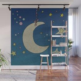 Moon Hanging Wall Mural