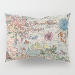 Carta Marina Pillow Sham