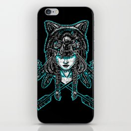 Wolf Spirit: Guarded iPhone Skin