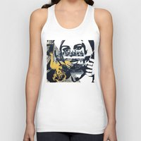 pulp Tank Tops featuring Pulp by Mike Ferrari