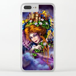 Fairy love and magic Clear iPhone Case