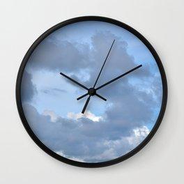 Cloud ring Wall Clock