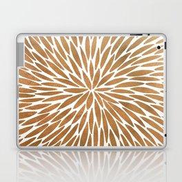 Rose Gold Burst Laptop & iPad Skin