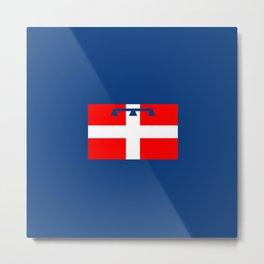 flag of Piedmont Metal Print