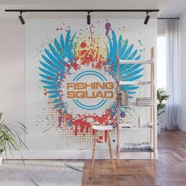 Fishing Squad Graphic Wall Mural