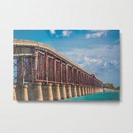 Overseas Highway Metal Print