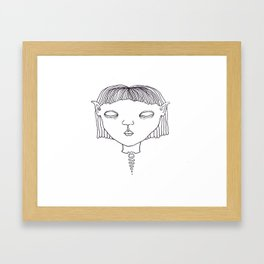 Elf #1 Framed Art Print
