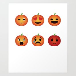 Archer Bowhunting Funny Emoticons Art Print