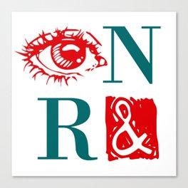 Randian Rebus Canvas Print