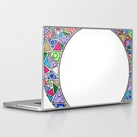 square Laptop & iPad Skins featuring Square.  by J. Fuller