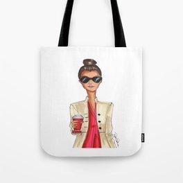 Brunette coffee Tote Bag