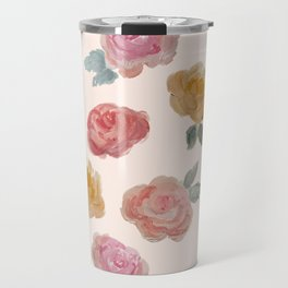 """Praise in the Darkness"" Roses Travel Mug"