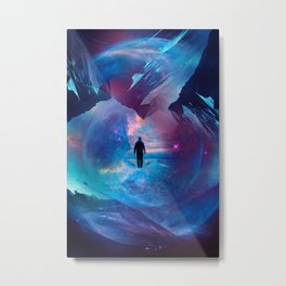I am tired of earth Dr manhattan Metal Print