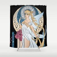 soldier Shower Curtains featuring La Soldier by Nados