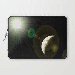 moon lens flare Laptop Sleeve