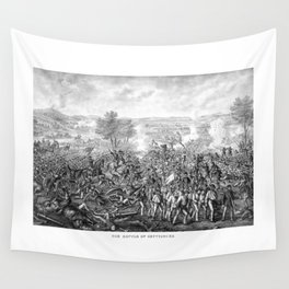 The Battle of Gettysburg Wall Tapestry