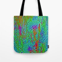 plants Tote Bags featuring Plants by Anne Millbrooke