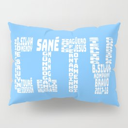 Manchester City 2017-2018 Pillow Sham
