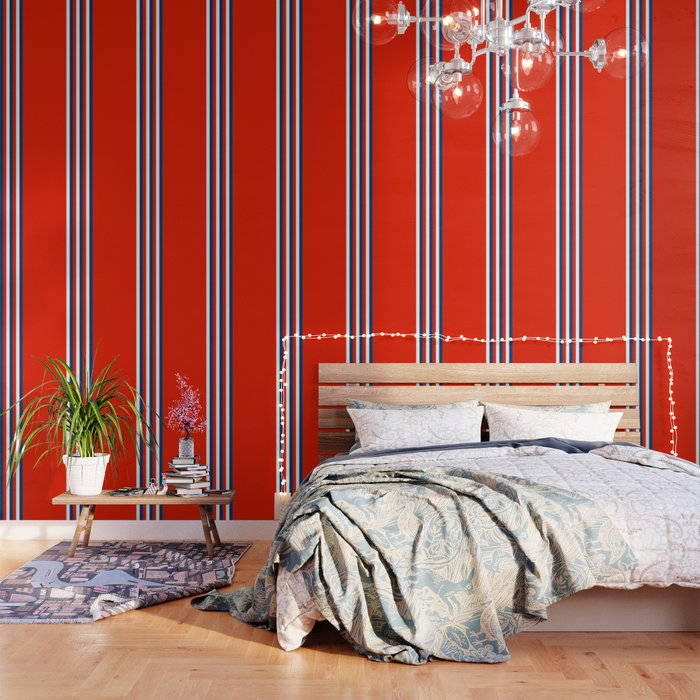 Retro Stripes Pop Art