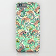 Golden Koi Fish in Pond iPhone 6s Slim Case
