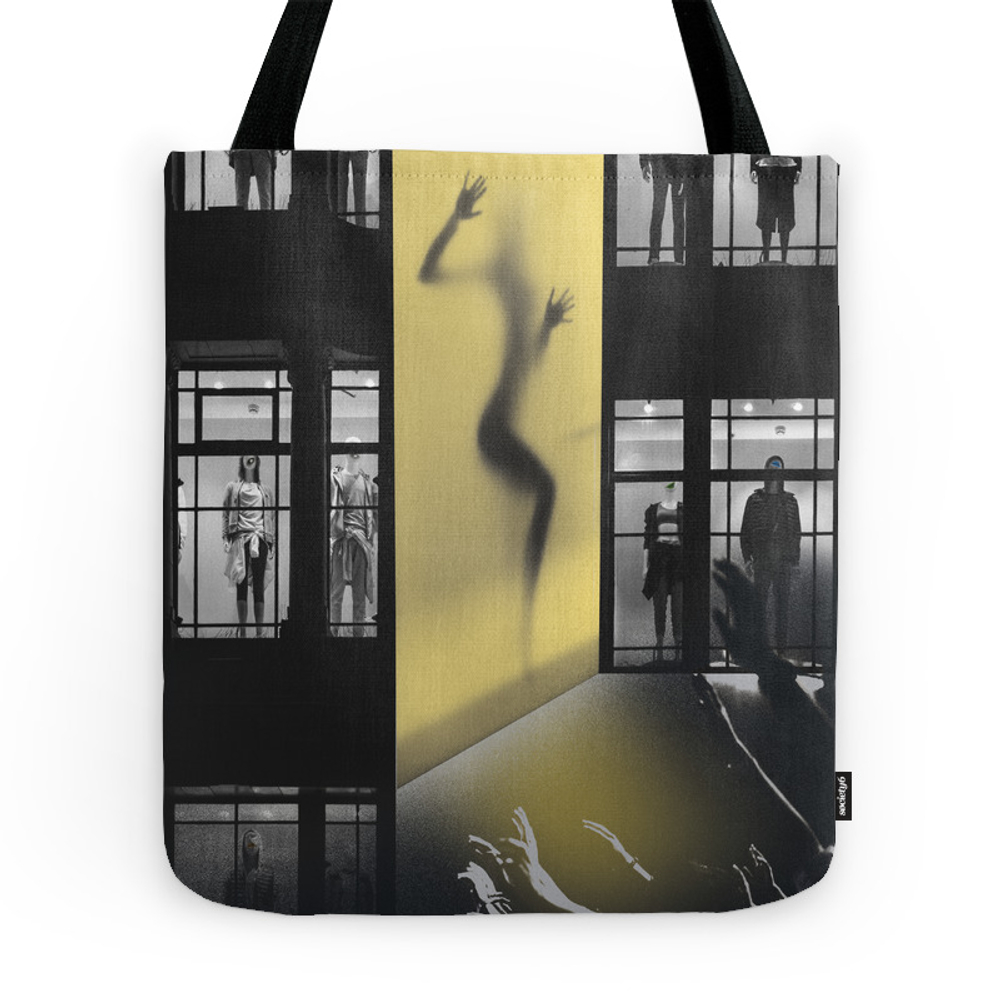 Asphyxia Tote Purse by lovebird-design (TBG7199737) photo
