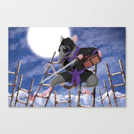 Year of the Rat - No Type Canvas Print