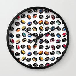 Pucking Awesome Wall Clock