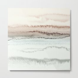 WITHIN THE TIDES NATURAL THREE by Monika Strigel Metal Print