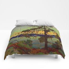 Tom Thomson The Jack Pine 1916-1917 Canadian Landscape Artist Comforters