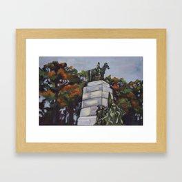 Gettysburg Battlefield Memorial Framed Art Print