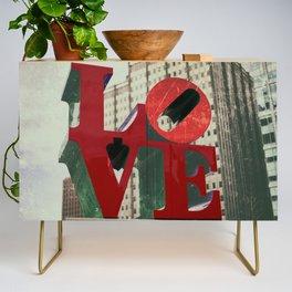 Love Sign Philadelphia Credenza