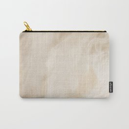 Pastel Wood Color Marble Carry-All Pouch