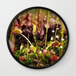 Carnivorous plant #2 Wall Clock