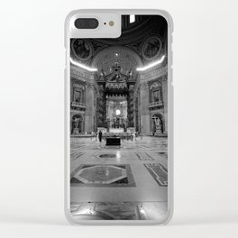 St. Peter's Basilica Clear iPhone Case