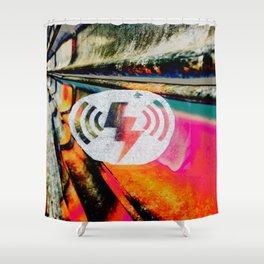 Hells Kitchen Standing Wave Shower Curtain