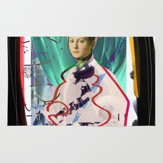 Bronzino and Signorino Street Art Graffiti Rug